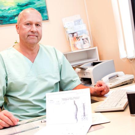 Kiropraktiku vastuvõtt